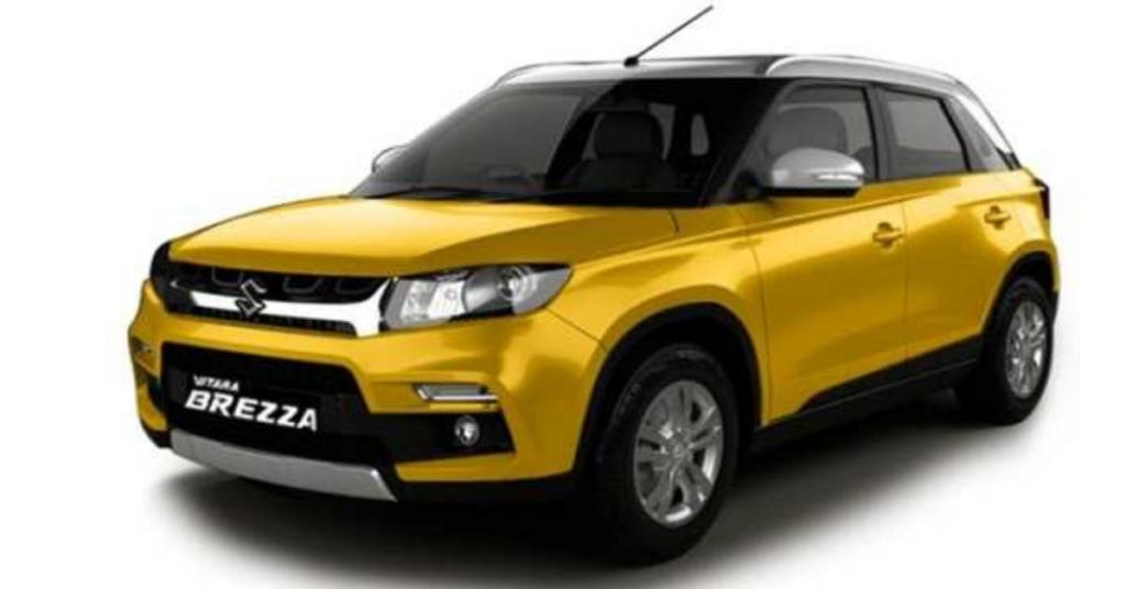 SUV - Maruti Suzuki Vitara Brezza