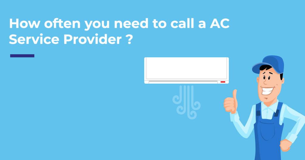 call AC service provider