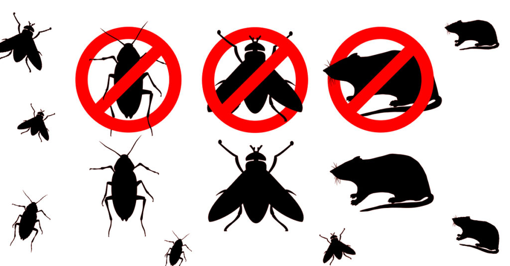 Prevent flies and rodents