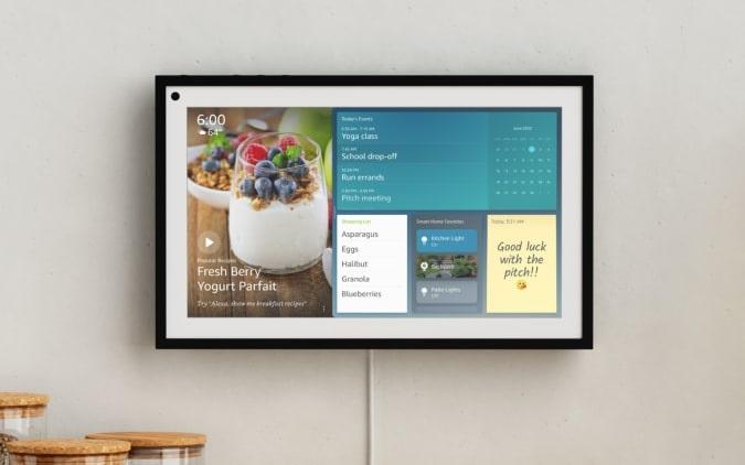 Amazon  echo show 15 display